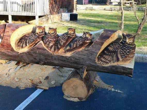 real arts of woodcarving11 O fera da motoserra