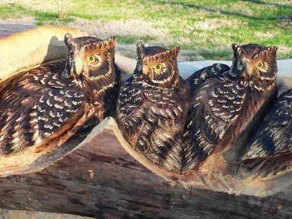 real arts of woodcarving13 O fera da motoserra