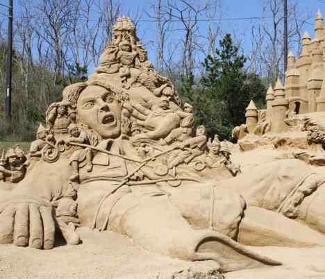 sand sculpture 1 Incríveis esculturas de areia