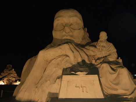 sand sculpture 10 Incríveis esculturas de areia