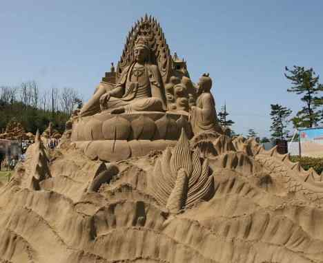sand sculpture 15 Incríveis esculturas de areia