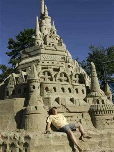 sandcastle to sun 1sfw Incríveis esculturas de areia