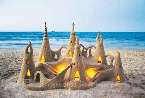 sandology Incríveis esculturas de areia