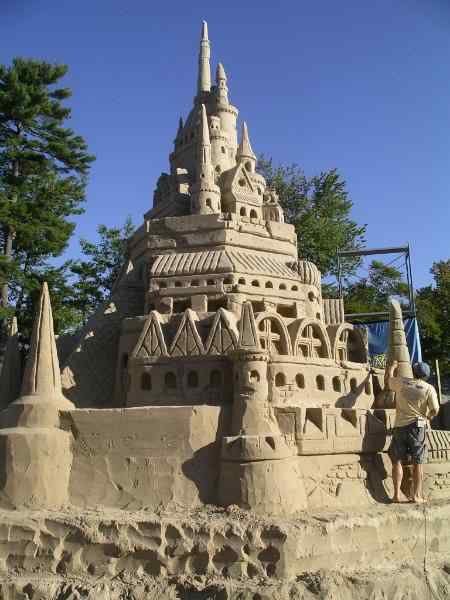worldrecordsandcastle Incríveis esculturas de areia