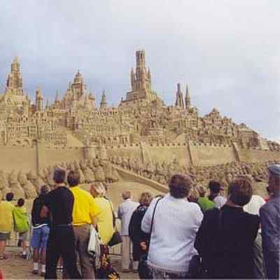 zand Incríveis esculturas de areia