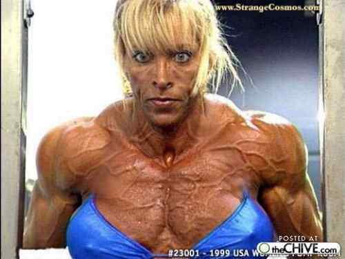 a women bodybuilder trainwreck 16 Monstros do fisiculturismo