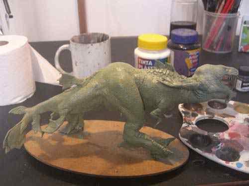 CIMG0616 Aqua Rex 4   Finalização e pintura