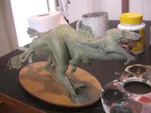 CIMG0617 Aqua Rex 4   Finalização e pintura
