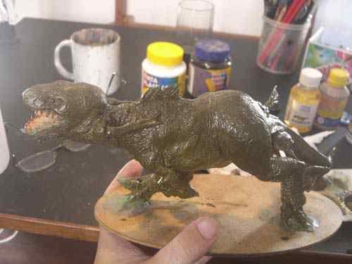 CIMG0619 Aqua Rex 4   Finalização e pintura