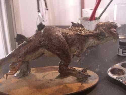 CIMG0626 Aqua Rex 4   Finalização e pintura