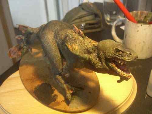 CIMG0835 Aqua Rex 4   Finalização e pintura