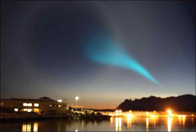 Norwegion Lights3 945269a Fenômeno espiral não identificado assombra o mundo