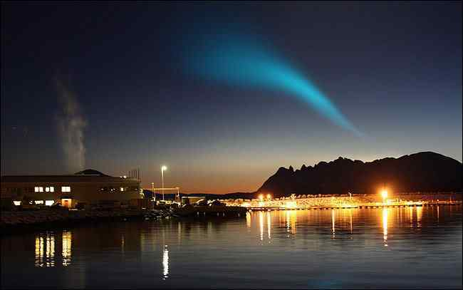 Norwegion Lights4 945270a Fenômeno espiral não identificado assombra o mundo