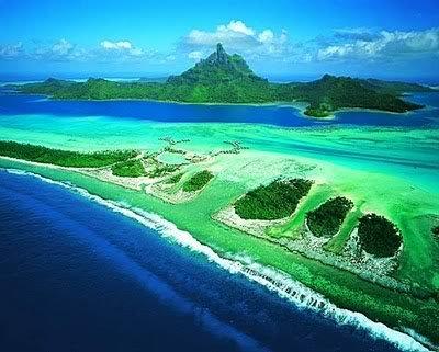 02Ilha Bora Bora ilha mais bonita Dez ilhas interessantes