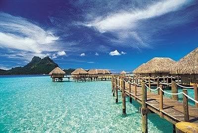 04Ilha Bora Bora muito bonita Dez ilhas interessantes