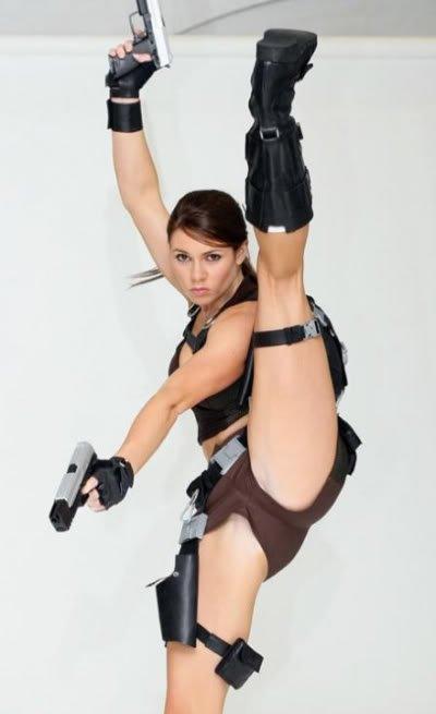 Lara Croft cosplay Os melhores cosplays femininos do mundo