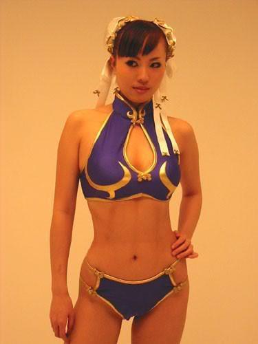 chun li Os melhores cosplays femininos do mundo