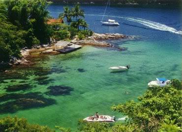 ilhagrande lagoa azul Dez ilhas interessantes