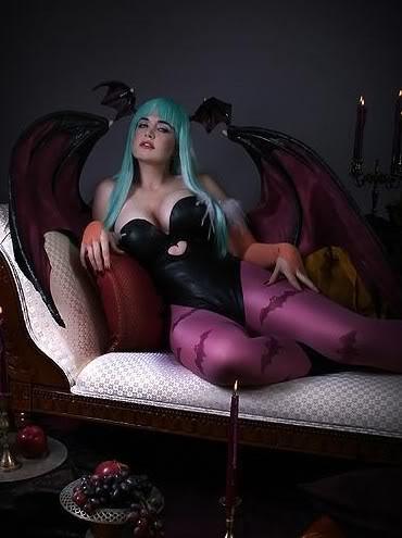lindze morrigan 01 Os melhores cosplays femininos do mundo