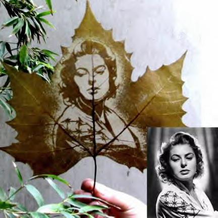 mail2 Leaf carving   a arte de esculpir em folhas