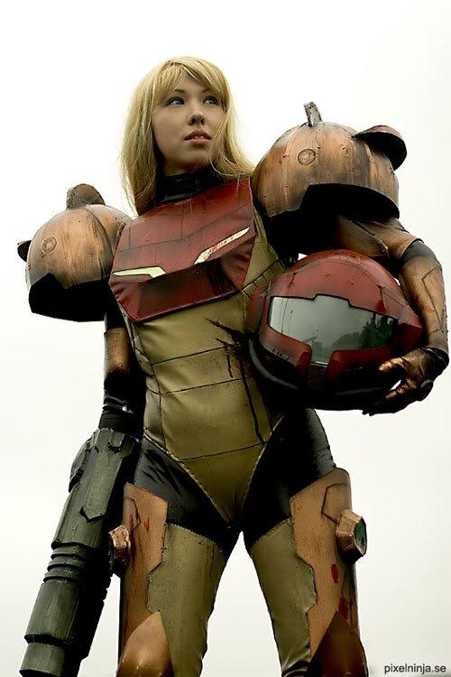 metroid01 Os melhores cosplays femininos do mundo