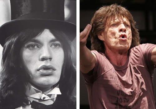 ontem hoje rock 13 Celebridades ontem e hoje