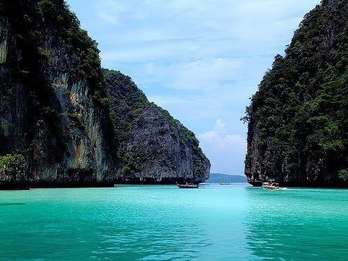 phi phi island 1 Dez ilhas interessantes