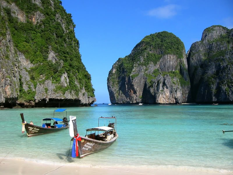 phi phi thailand Dez ilhas interessantes