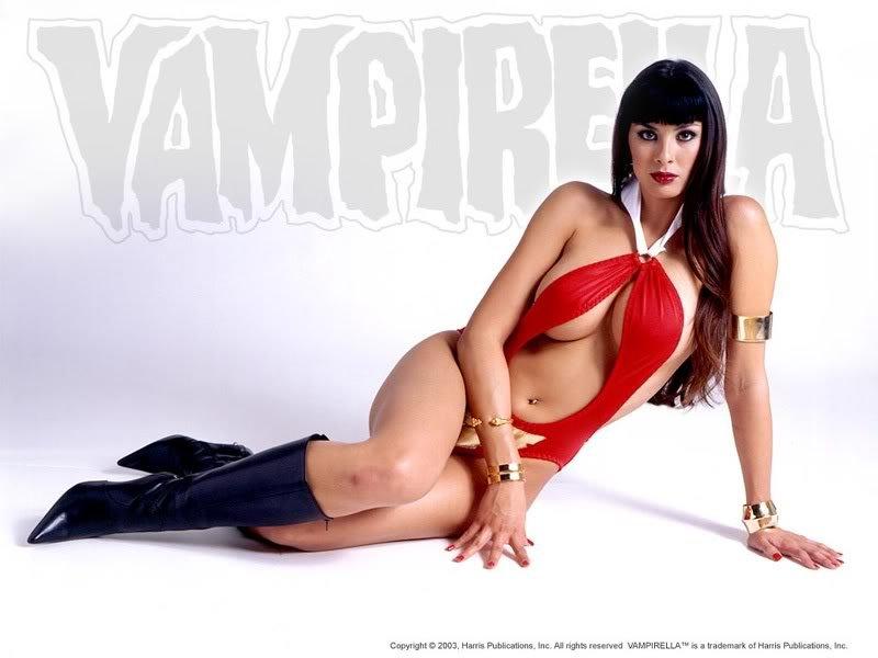 vampirella Os melhores cosplays femininos do mundo