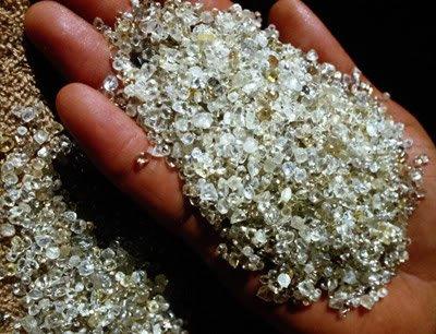 five largest diamond heists 1 Um oceano de... Diamante? Isso mesmo!