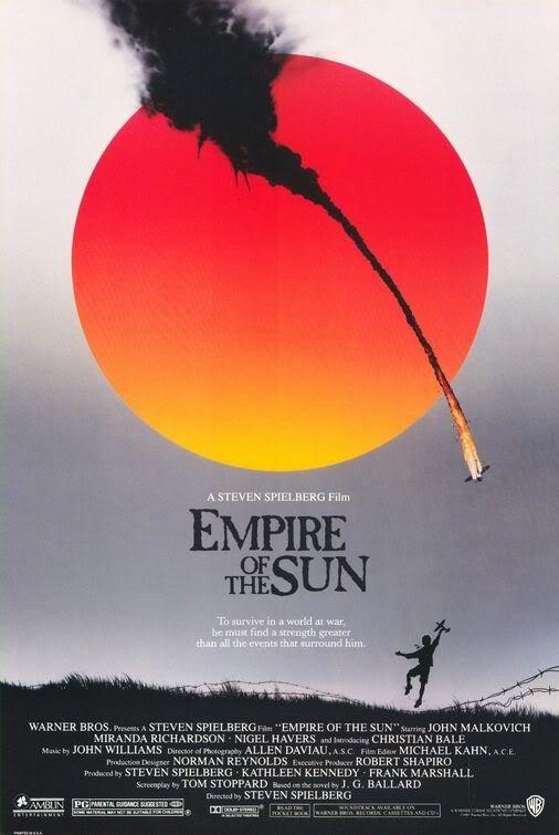 Imperio do Sol Os melhores filmes da Segunda Guerra mundial