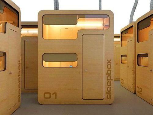 Sleepbox3 Caixas de dormir?