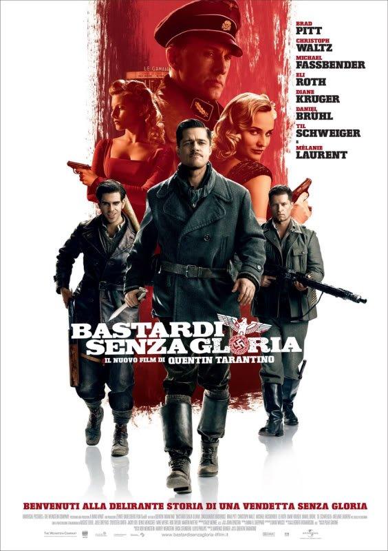 bastardos inglorios Os melhores filmes da Segunda Guerra mundial