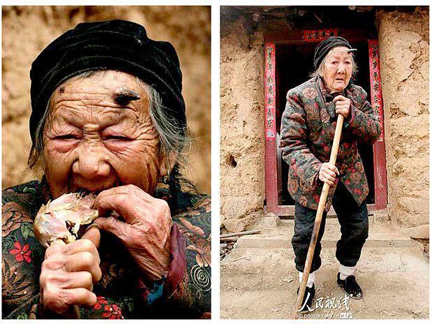 get A velha de 101 anos chifruda e seus amigos
