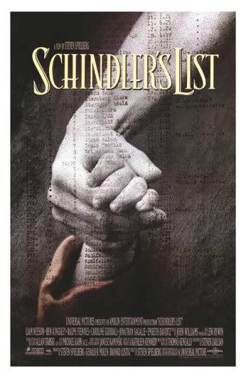 mpaschindlerslistposter Os melhores filmes da Segunda Guerra mundial