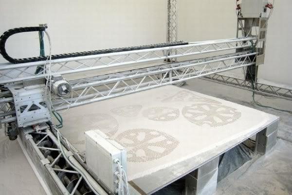 3d imprint Prototipagem rápida em breve chegará a Arquitetura