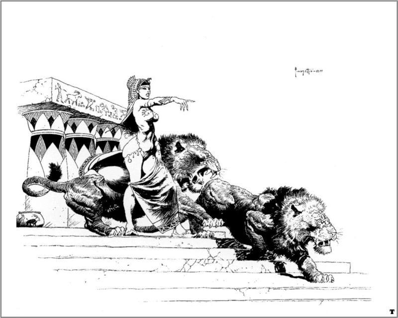 frazetta049 20 grandes ilustrações do Frank Frazetta
