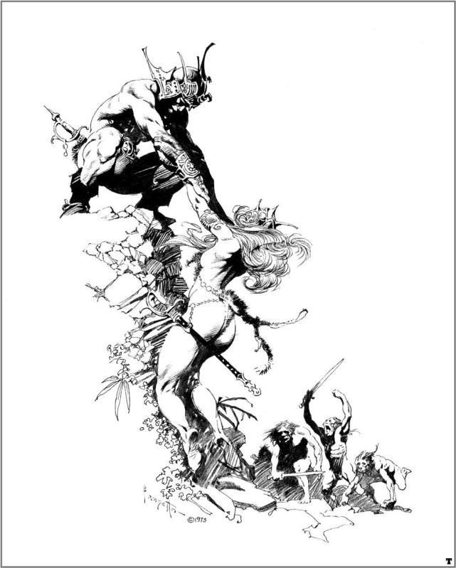 frazetta061 20 grandes ilustrações do Frank Frazetta