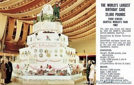 a398 cake 1 Mundo gigante   Um apanhado de coisas gigantes da web