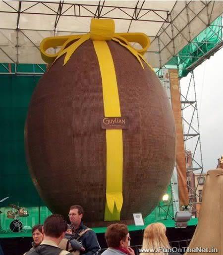 a398 egg 1 Mundo gigante   Um apanhado de coisas gigantes da web
