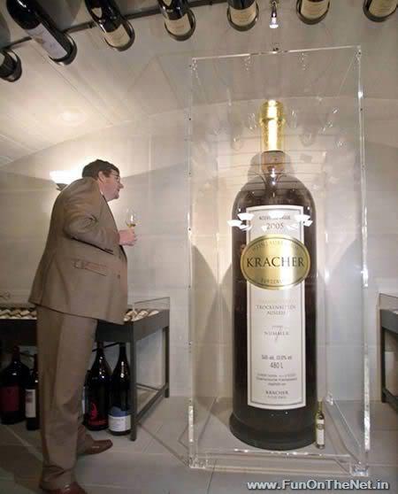 a398 wine 1 Mundo gigante   Um apanhado de coisas gigantes da web
