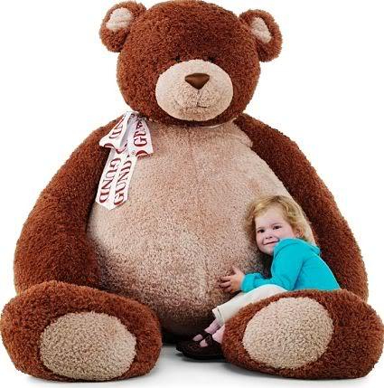 giant teddy bear Mundo gigante   Um apanhado de coisas gigantes da web