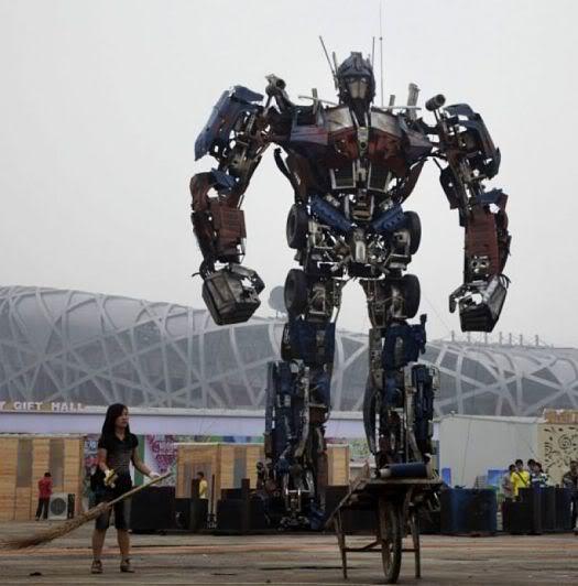 vehicles giant transformer 1 Mundo gigante   Um apanhado de coisas gigantes da web