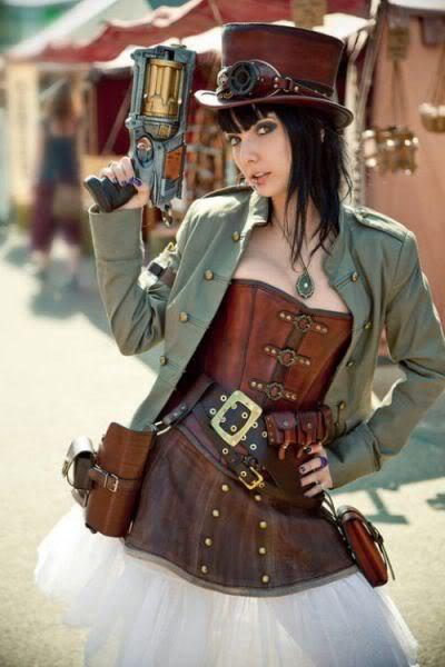 cosplay steampunk sexy 640 04 Gatas em cosplay steampunk