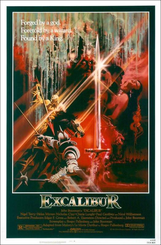 excalibur Os melhores filmes dos anos 80   parte2