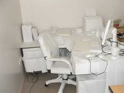 12embrulho Pegadinhas de escritório