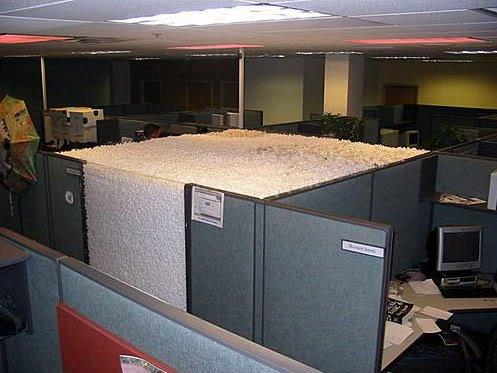 OfficePranks13 Pegadinhas de escritório