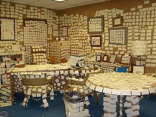 OfficePranks5 Pegadinhas de escritório