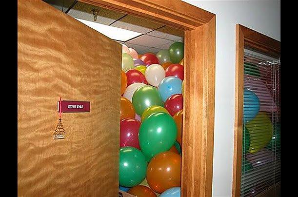 office cubicles 03 Pegadinhas de escritório