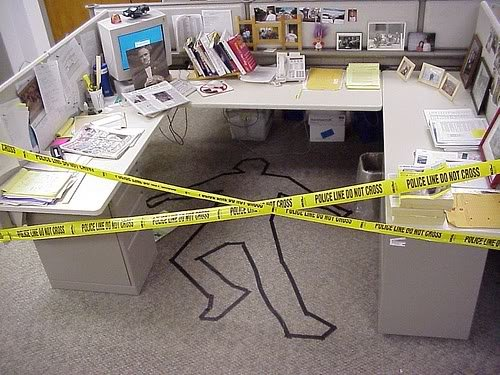 office pranks02 Pegadinhas de escritório